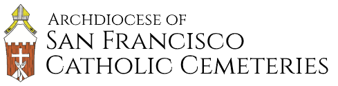 Holy Cross Cemetery Logo
